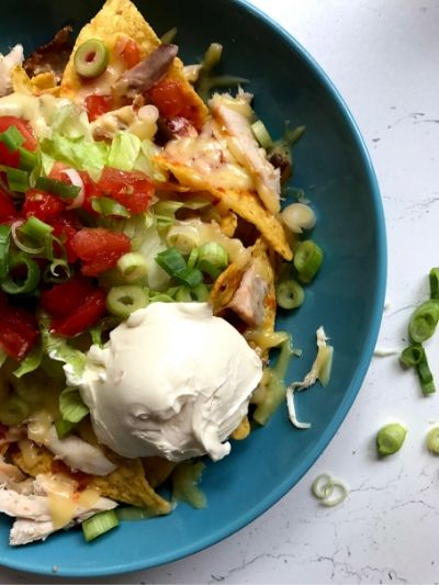 Chicken nachos you can cook with kids